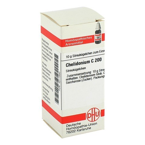 CHELIDONIUM C 200 Globuli 10 Gramm N1