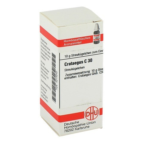 CRATAEGUS C 30 Globuli 10 Gramm N1