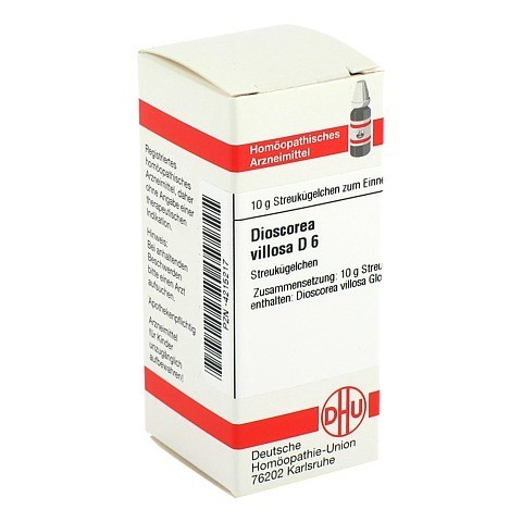 DIOSCOREA VILLOSA D 6 Globuli 10 Gramm N1