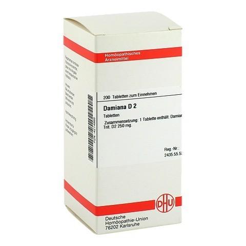 DAMIANA D 2 Tabletten 200 Stück N2