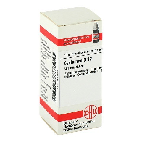 CYCLAMEN D 12 Globuli 10 Gramm N1