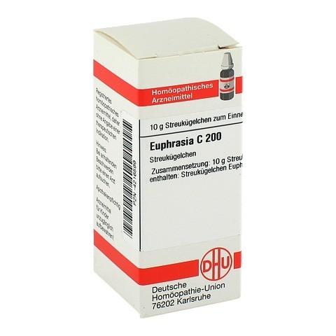 EUPHRASIA C 200 Globuli 10 Gramm N1