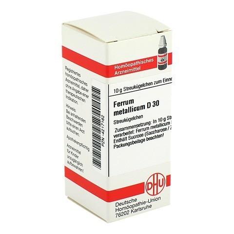 FERRUM METALLICUM D 30 Globuli 10 Gramm N1