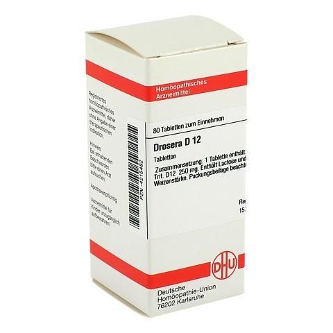 DROSERA D 12 Tabletten 80 Stück N1
