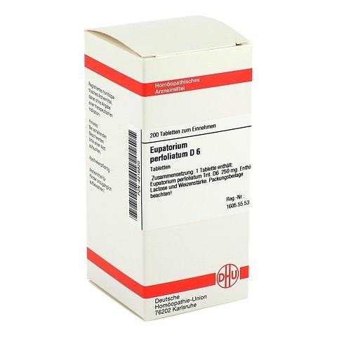 EUPATORIUM PERFOLIATUM D 6 Tabletten 200 Stück N2