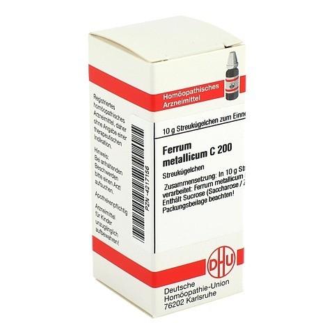 FERRUM METALLICUM C 200 Globuli 10 Gramm N1