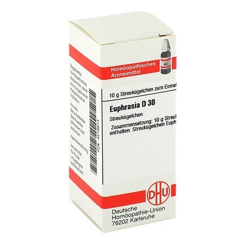 EUPHRASIA D 30 Globuli 10 Gramm N1