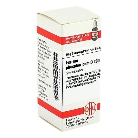 FERRUM PHOSPHORICUM D 200 Globuli 10 Gramm N1