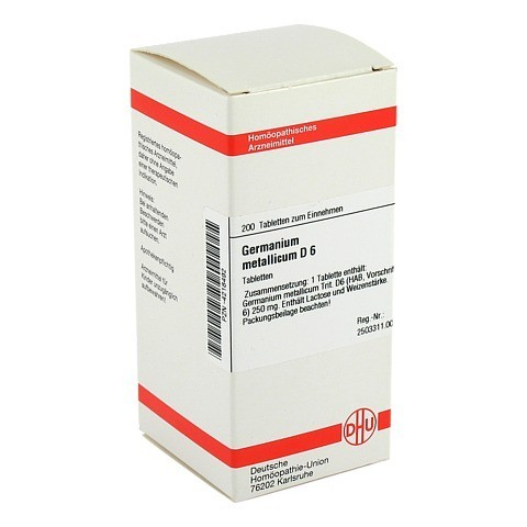 GERMANIUM metallicum D 6 Tabletten 200 Stück