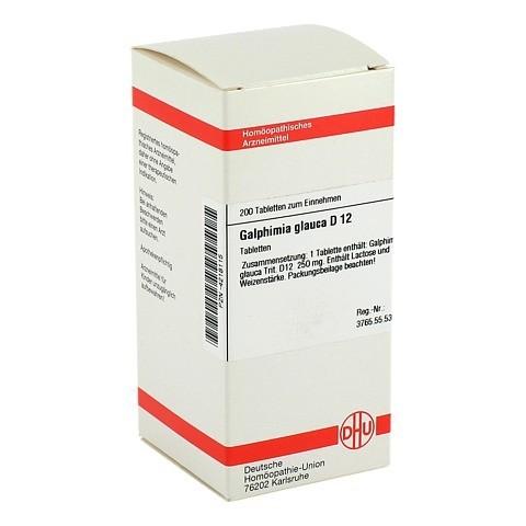 GALPHIMIA GLAUCA D 12 Tabletten 200 Stück N2