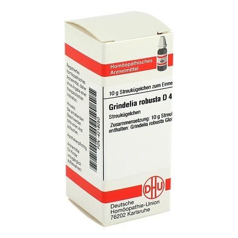 GRINDELIA ROBUSTA D 4 Globuli 10 Gramm N1