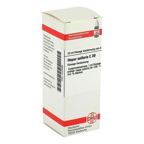 HEPAR SULFURIS C 30 Dilution 20 Milliliter N1