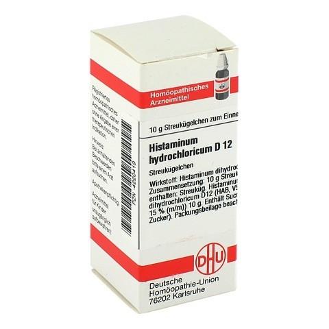 HISTAMINUM hydrochloricum D 12 Globuli 10 Gramm N1