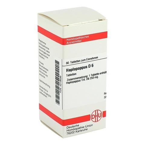 HAPLOPAPPUS D 6 Tabletten 80 Stück N1
