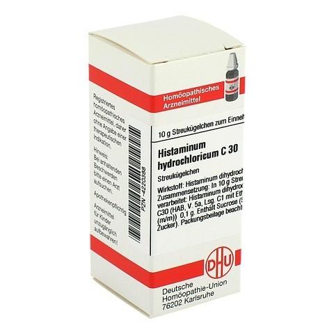 HISTAMINUM hydrochloricum C 30 Globuli 10 Gramm N1