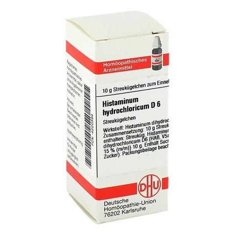 HISTAMINUM hydrochloricum D 6 Globuli 10 Gramm N1