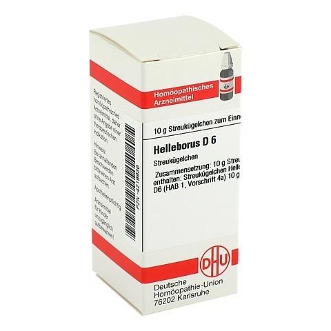 HELLEBORUS D 6 Globuli 10 Gramm N1