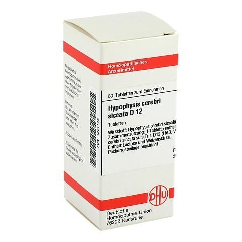 HYPOPHYSIS CEREBRI siccata D 12 Tabletten 80 Stück N1