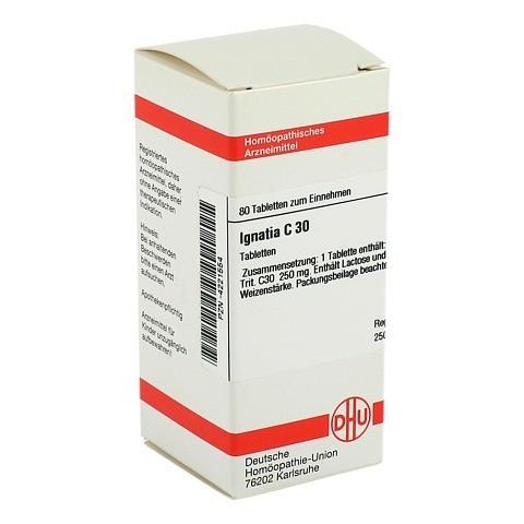 IGNATIA C 30 Tabletten 80 Stück