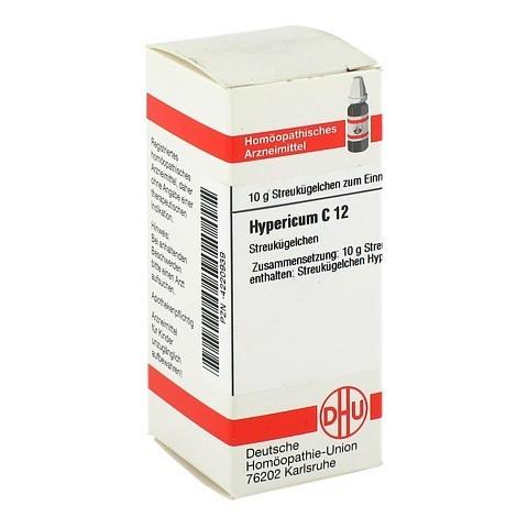 HYPERICUM C 12 Globuli 10 Gramm N1