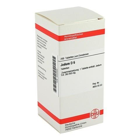 JODUM D 6 Tabletten 200 Stück N2