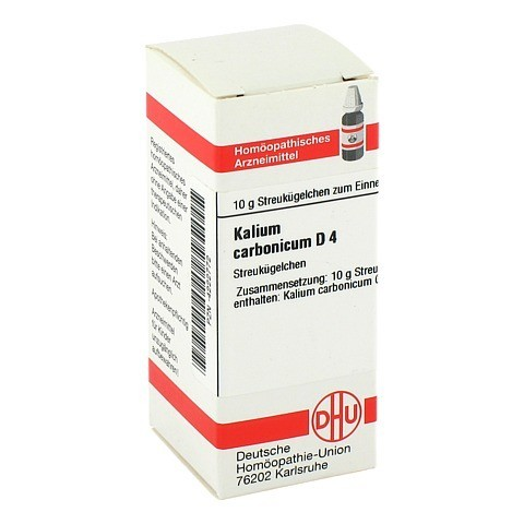 KALIUM CARBONICUM D 4 Globuli 10 Gramm N1