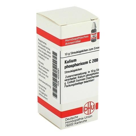 KALIUM PHOSPHORICUM C 200 Globuli 10 Gramm N1