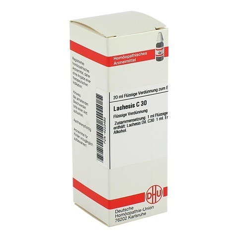 LACHESIS C 30 Dilution 20 Milliliter N1
