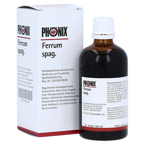 PHÖNIX FERRUM spag. Tropfen 100 Milliliter N2
