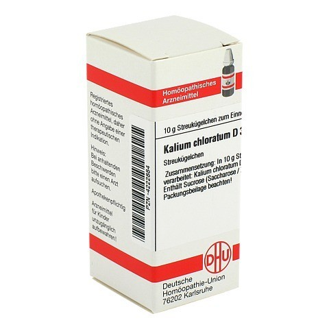 KALIUM CHLORATUM D 30 Globuli 10 Gramm N1