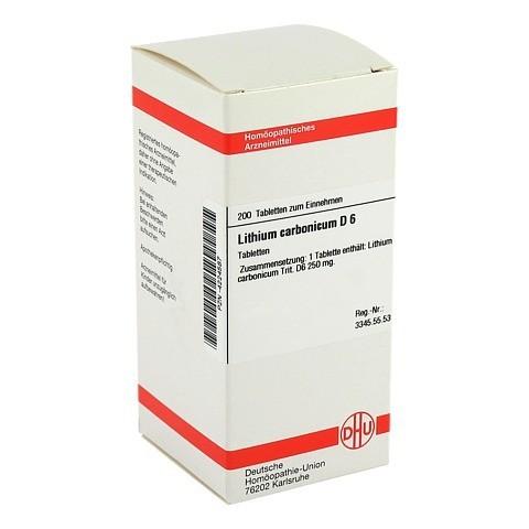 LITHIUM CARBONICUM D 6 Tabletten 200 Stück N2