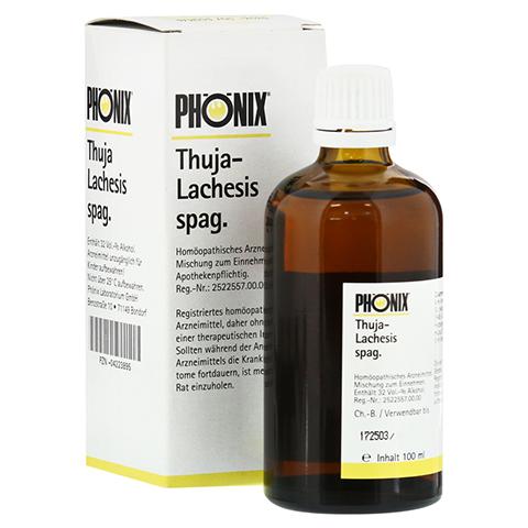 PHÖNIX THUJA lachesis spag. Tropfen 100 Milliliter N2