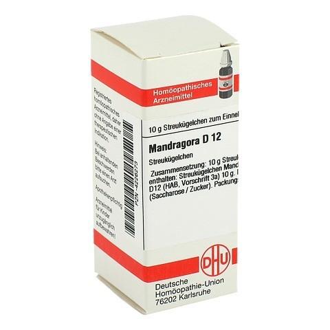 MANDRAGORA D 12 Globuli 10 Gramm