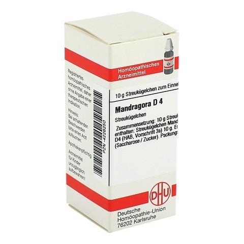 MANDRAGORA D 4 Globuli 10 Gramm