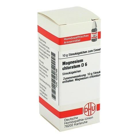 MAGNESIUM CHLORATUM D 6 Globuli 10 Gramm N1