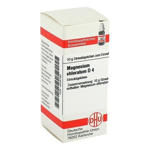 MAGNESIUM CHLORATUM D 4 Globuli 10 Gramm N1