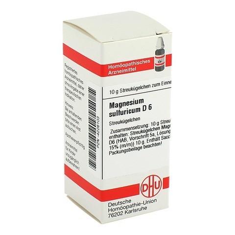 MAGNESIUM SULFURICUM D 6 Globuli 10 Gramm N1