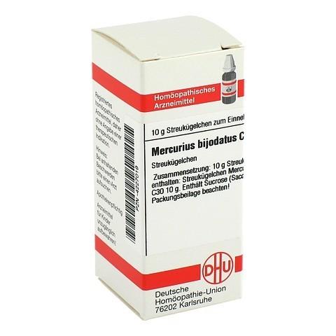 MERCURIUS BIJODATUS C 30 Globuli 10 Gramm N1