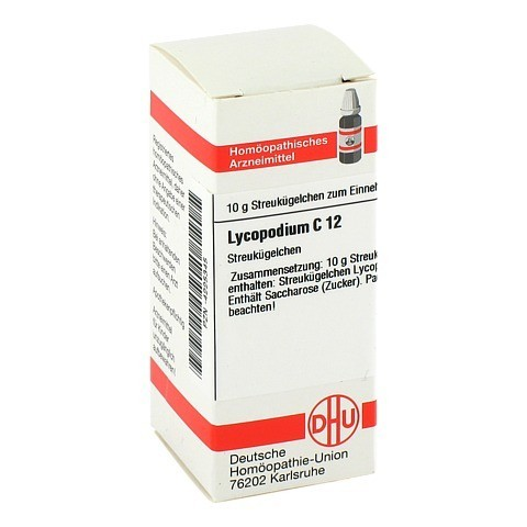 LYCOPODIUM C 12 Globuli 10 Gramm N1