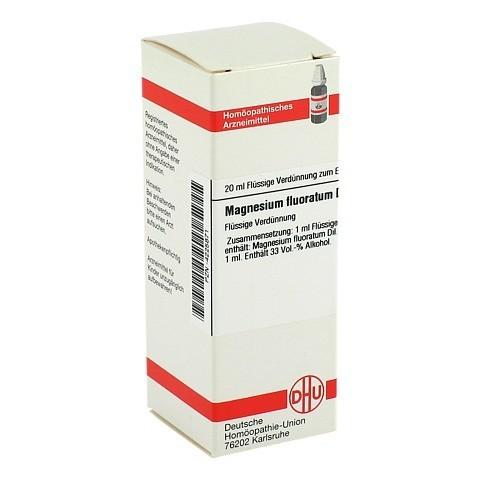 MAGNESIUM FLUORATUM D 6 Dilution 20 Milliliter N1