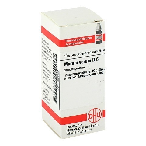 MARUM VERUM D 6 Globuli 10 Gramm N1