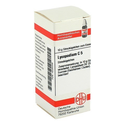 LYCOPODIUM C 5 Globuli 10 Gramm N1