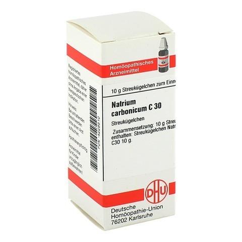 NATRIUM CARBONICUM C 30 Globuli 10 Gramm N1