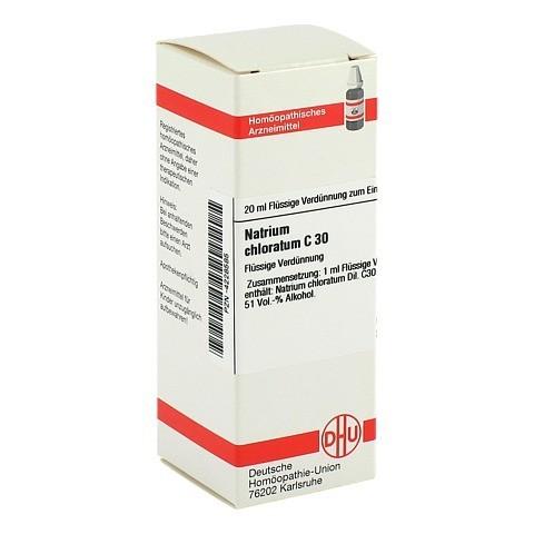NATRIUM CHLORATUM C 30 Dilution 20 Milliliter N1