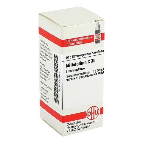 MILLEFOLIUM C 30 Globuli 10 Gramm N1