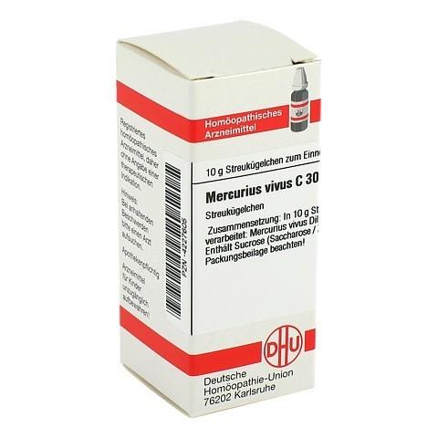 MERCURIUS VIVUS C 30 Globuli 10 Gramm N1