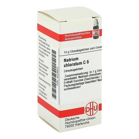 NATRIUM CHLORATUM C 6 Globuli 10 Gramm N1