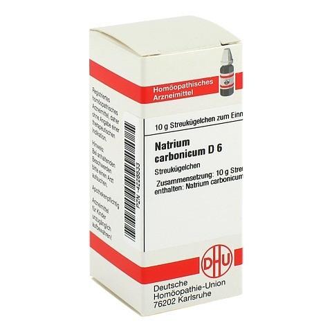 NATRIUM CARBONICUM D 6 Globuli 10 Gramm N1