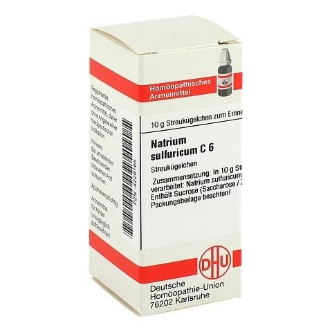 NATRIUM SULFURICUM C 6 Globuli 10 Gramm N1