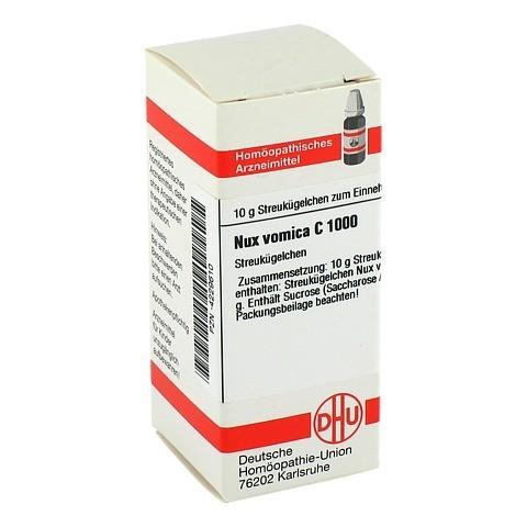 NUX VOMICA C 1000 Globuli 10 Gramm N1